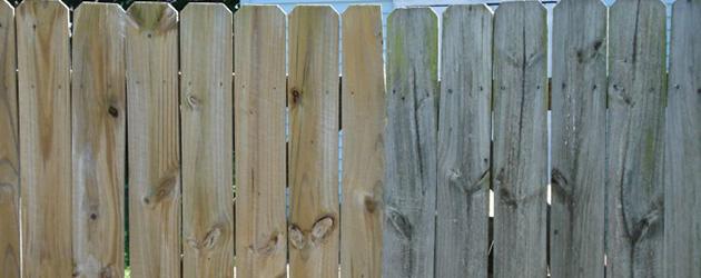 Deck & Fence Washing